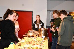 Gesamtschule Woltersdorf_Pariser Schule zu Besuch_Februar 2020_3