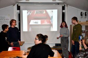 Gesamtschule Woltersdorf_Pariser Schule zu Besuch_Februar 2020_7