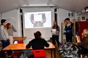 Gesamtschule Woltersdorf_Pariser Schule zu Besuch_Februar 2020_8