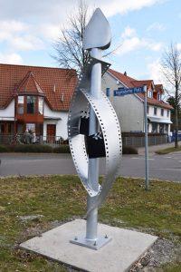 Gesamtschule Woltersdorf_Schülerinnen designen Skulptur für Woltersdorf_15