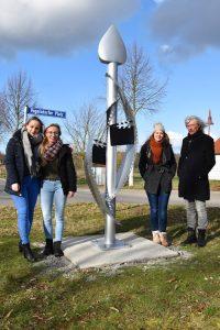 Gesamtschule Woltersdorf_Schülerinnen designen Skulptur für Woltersdorf_17