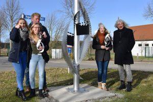 Gesamtschule Woltersdorf_Schülerinnen designen Skulptur für Woltersdorf_18