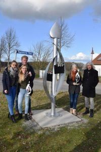 Gesamtschule Woltersdorf_Schülerinnen designen Skulptur für Woltersdorf_19