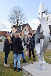 Gesamtschule Woltersdorf_Schülerinnen designen Skulptur für Woltersdorf_20
