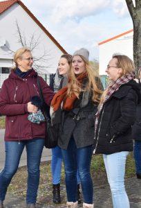 Gesamtschule Woltersdorf_Schülerinnen designen Skulptur für Woltersdorf_4