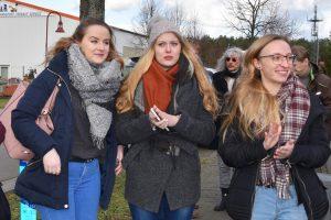 Gesamtschule Woltersdorf_Schülerinnen designen Skulptur für Woltersdorf_6